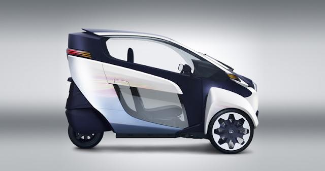 Toyota i-Road, ¿el auto del futuro?