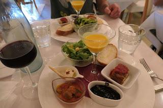 等々力渓谷内のイタリアンレストラン「OTTO」ランチメニューがあります。