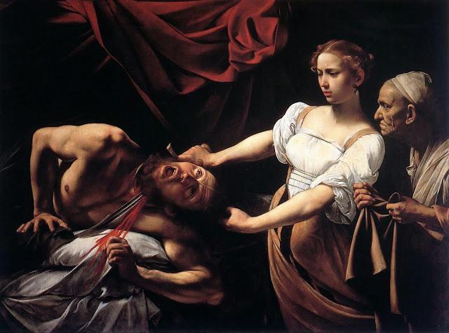 Caravaggio – Judith Beheading Holofernes [Giuditta e Oloferne, 1598]