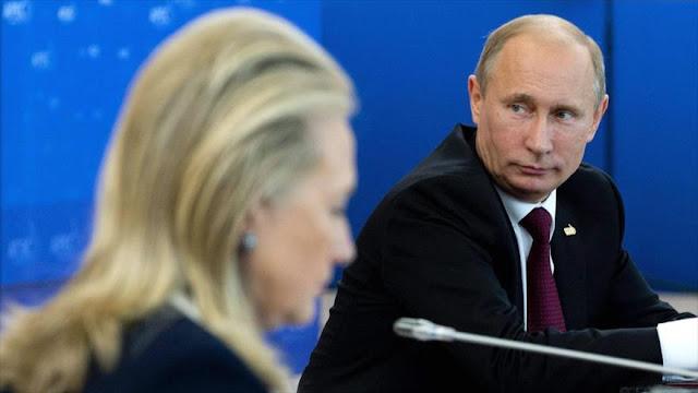 Rusia: Putin no ayudó a Trump para vengarse de Clinton