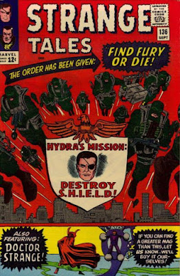 Strange Tales #136, Nick Fury, agent of SHIELD