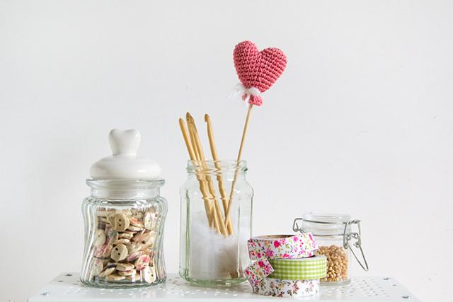 Knitting Yarn Red Heart Wrist