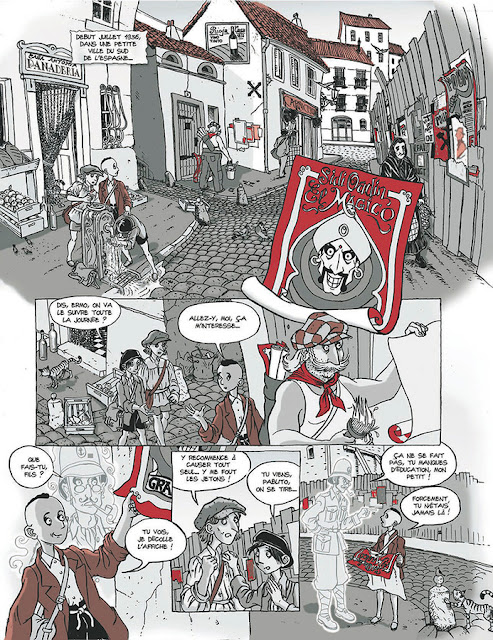 """page de """"Les Fantômes de Ermo T1"""" de Bruno Loth chez la Boîte à bulles"""