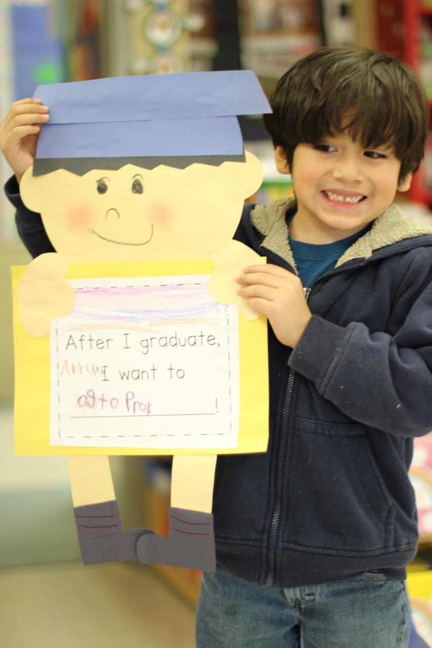 Kinder Garden: Graduation Kid Craft And Kindergarten Freebies