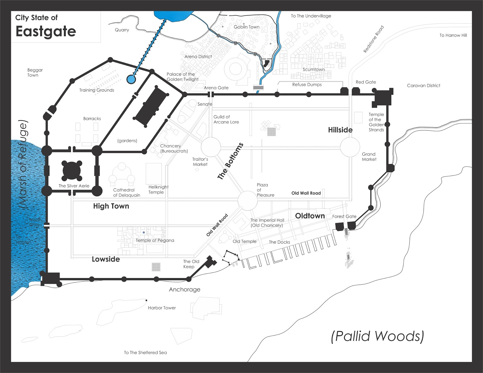 Judges Guild Campaign Maps | Wiring Diagram Database
