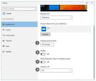 Cara Membuat Wallpaper Slideshow di Windows 10