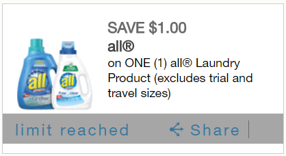 graphic relating to All Laundry Detergent Printable Coupons referred to as All Laundry Detergent: 2 Printable Discount coupons + Package deal at Tops