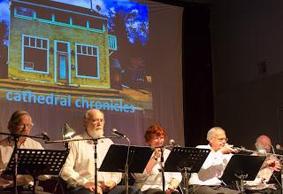 Bruce Rice, Paul Wilson, Judith Krause, Jim MacLean, Robert Currie - photo by Shelley Banks