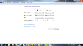 setting waktu sleep di windows 7