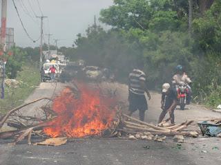Protestas contra Edesur se han vuelto cotidianas en Barahona