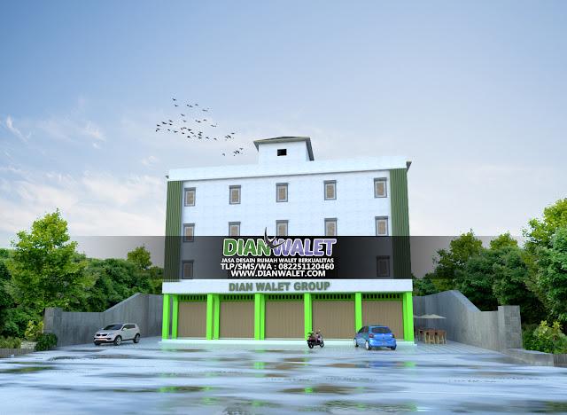 Desain Rumah Burung Walet Terbaru