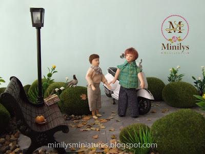 """""""minilys miniatures"""" """"garden"""" """"amistad"""" 1:12 aventuras"""