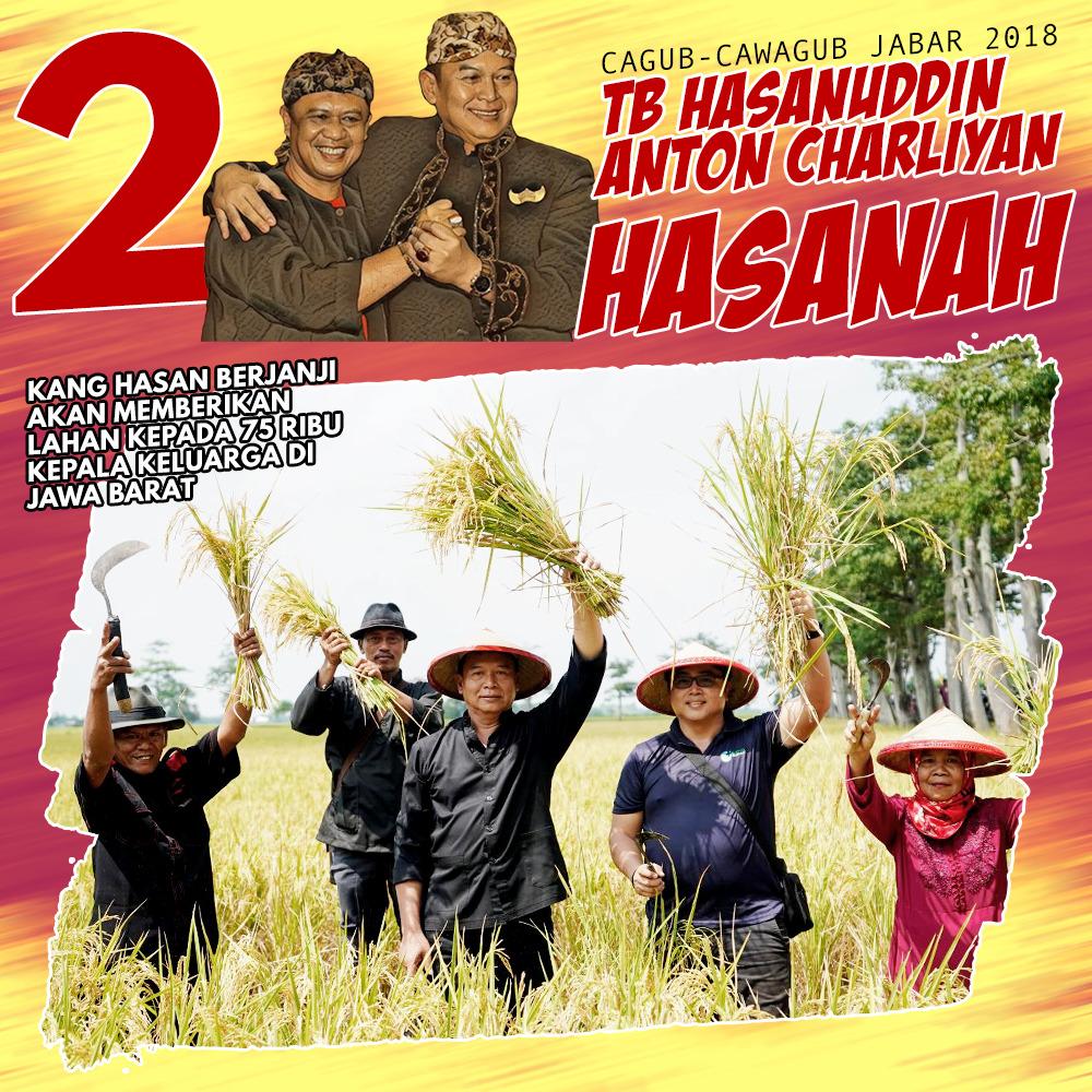Taktik TB Hasanuddin-Anton Mengurangi Impor Beras