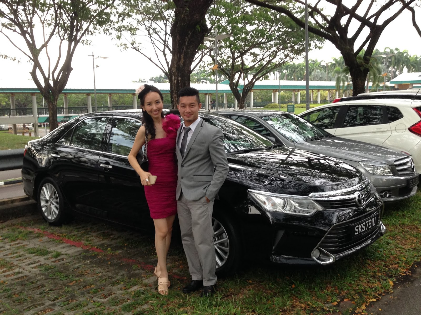 All New Camry Singapore Cicilan Kijang Innova Shaun Owyeong 2015 Toyota 2 5 A Class Leading Executive Sedan Emirates Derby The Racecourse Last Sunday With