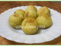 Resep Gomak ( Sweet Potato Ball Fill Brown Sugar )