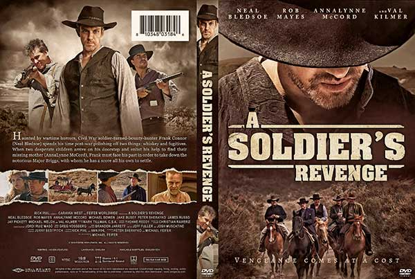 A Soldier's Revenge (2020) DVD Cover