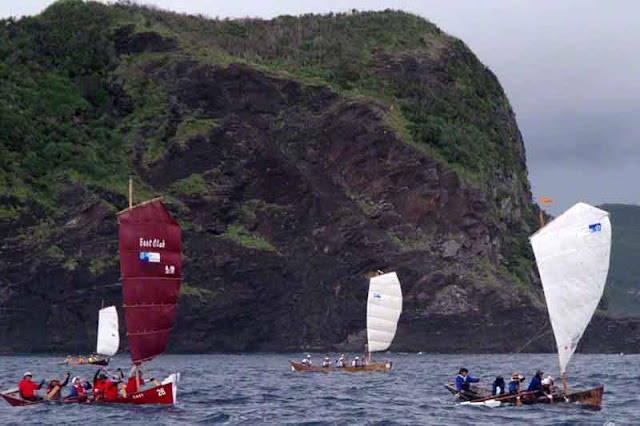 sabani boats, sails, paddles, teams