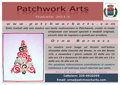 Invito Patchwork Arts 2013