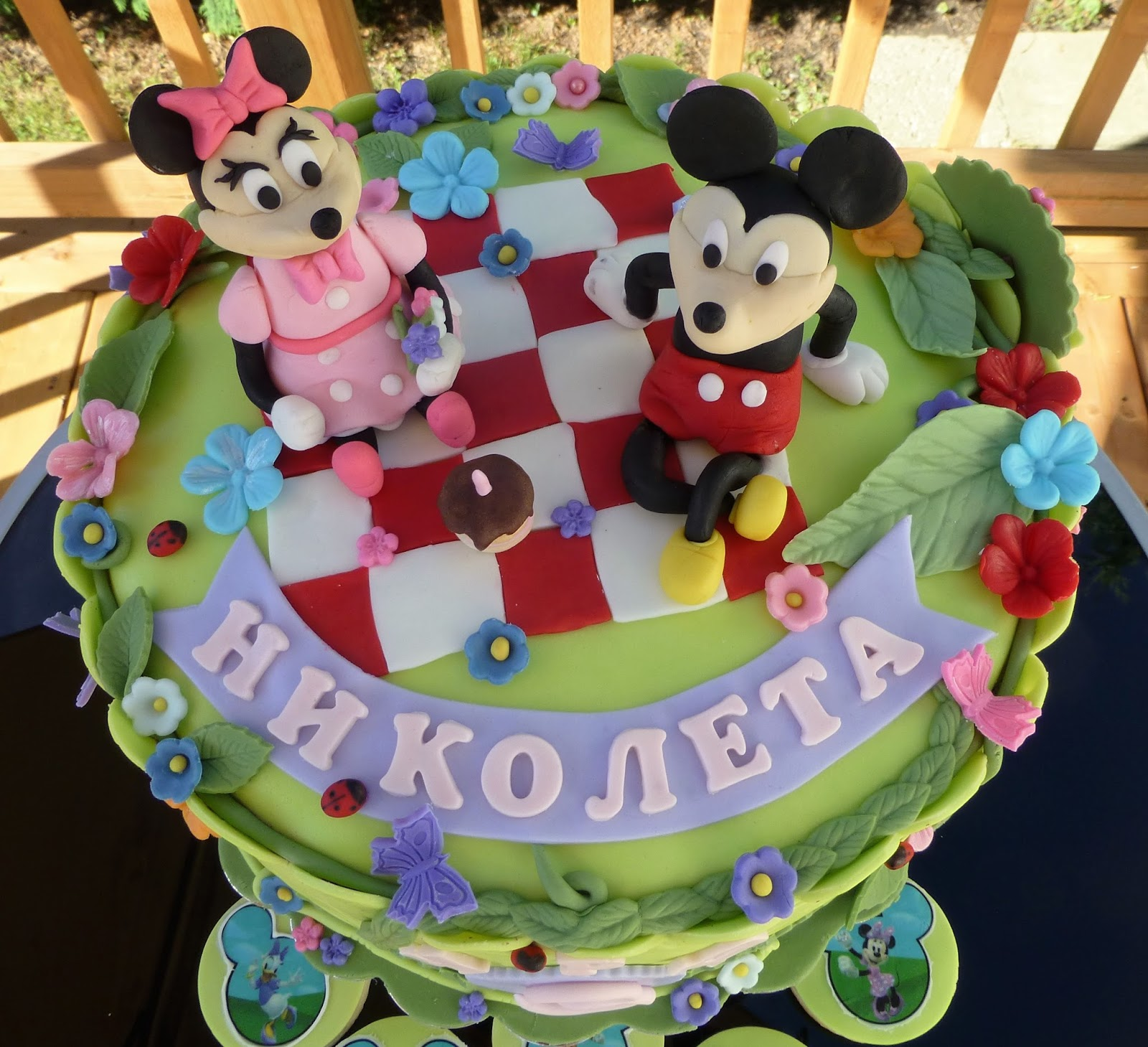 Cakesophia Mickey And Minnie Mouse Cake