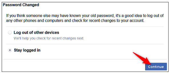 Retrieve Facebook Password