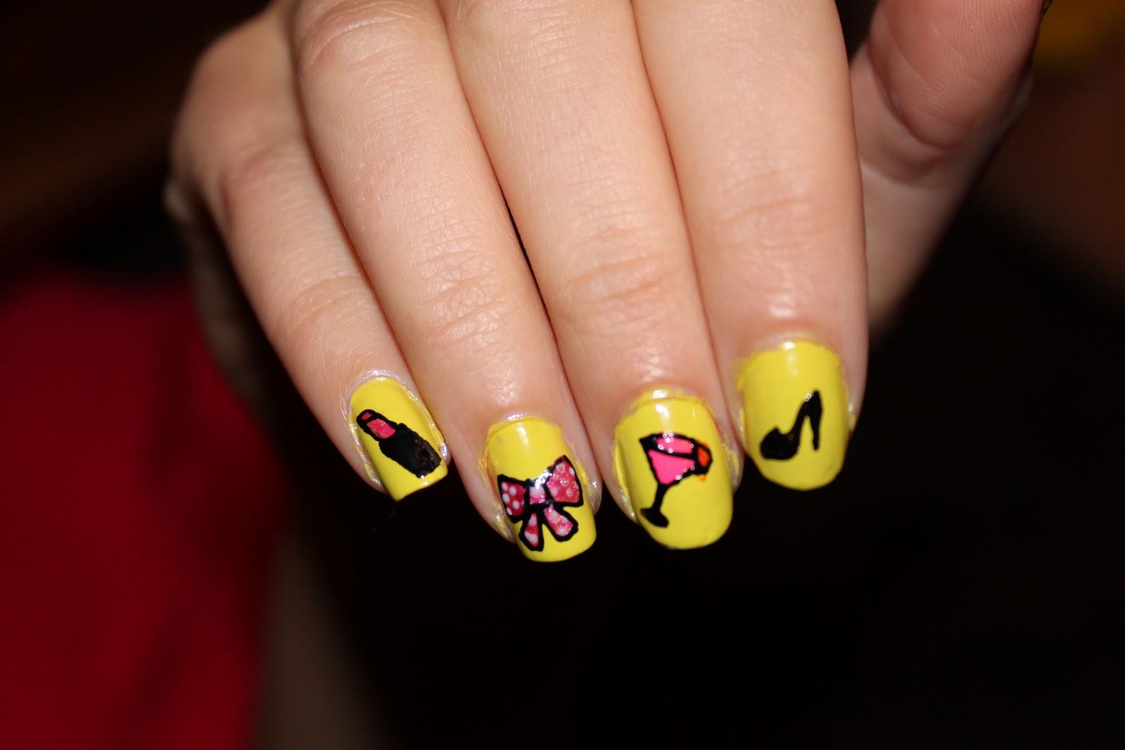 Girly Nail Designs - Nail Art