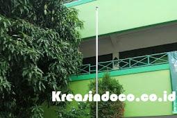 Pesanan Tiang Bendera SD Islam At Taubah Jakarta Timur