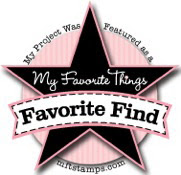 I was Favorite Find of the month September 2012 on the MFT Blog