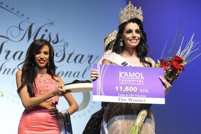 Brasileira é eleita a transexual mais bonita do mundo