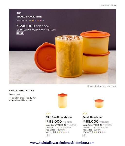 Small Snack Time, Slim Small Handy Jar