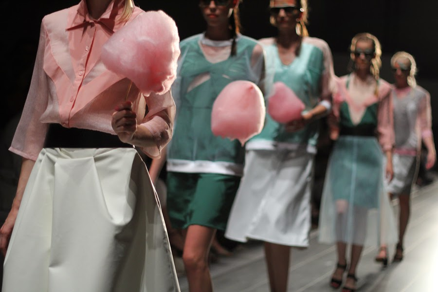 rebekka ruetz zuckerwatte berlin fashion week