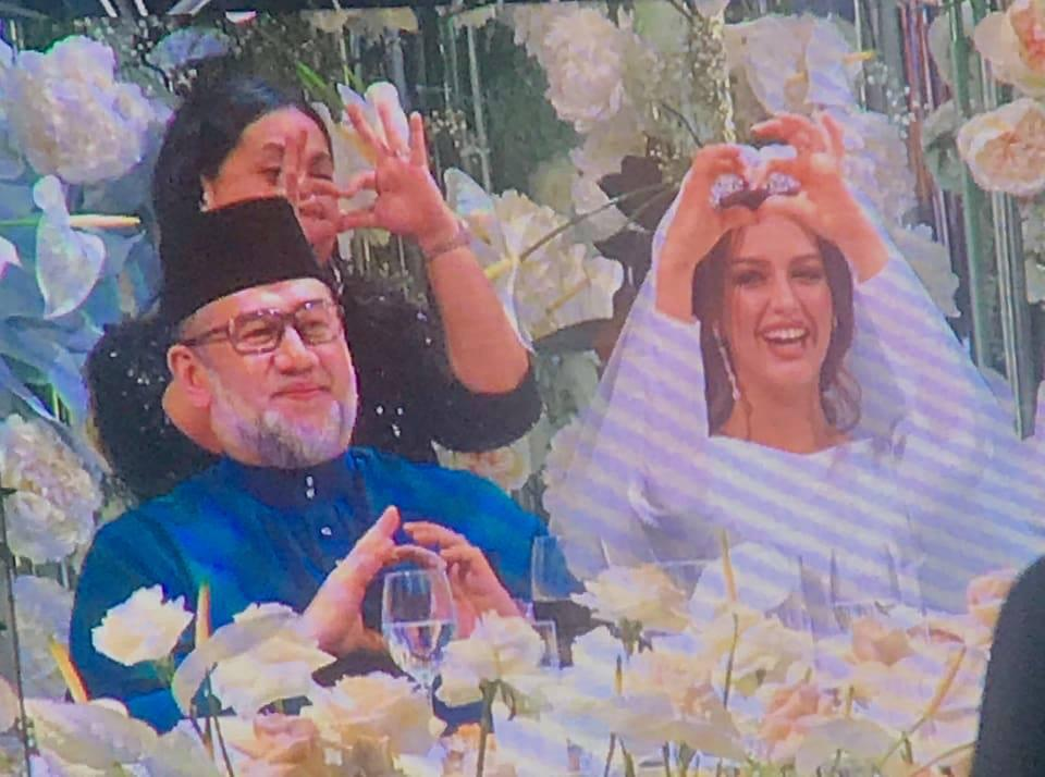 15th Agong Sultan Muhammad V Weds Miss Moscow