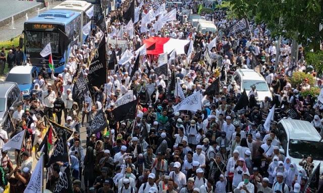 Aksi Bela Tauhid II, Tuntut Pemerintah dan PBNU Akui Bendera Tauhid