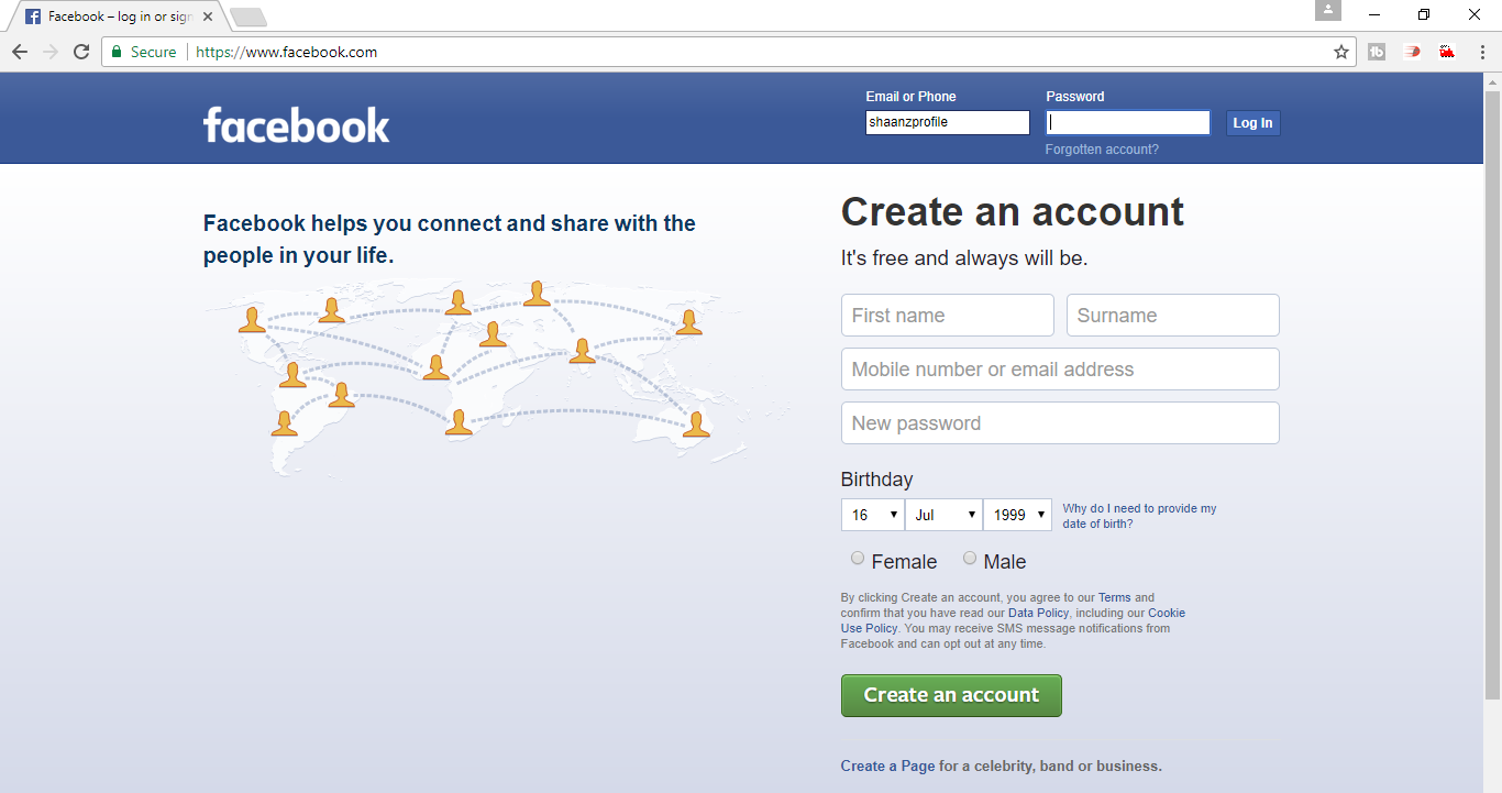 How to hack facebook account using anomor 100% working trick
