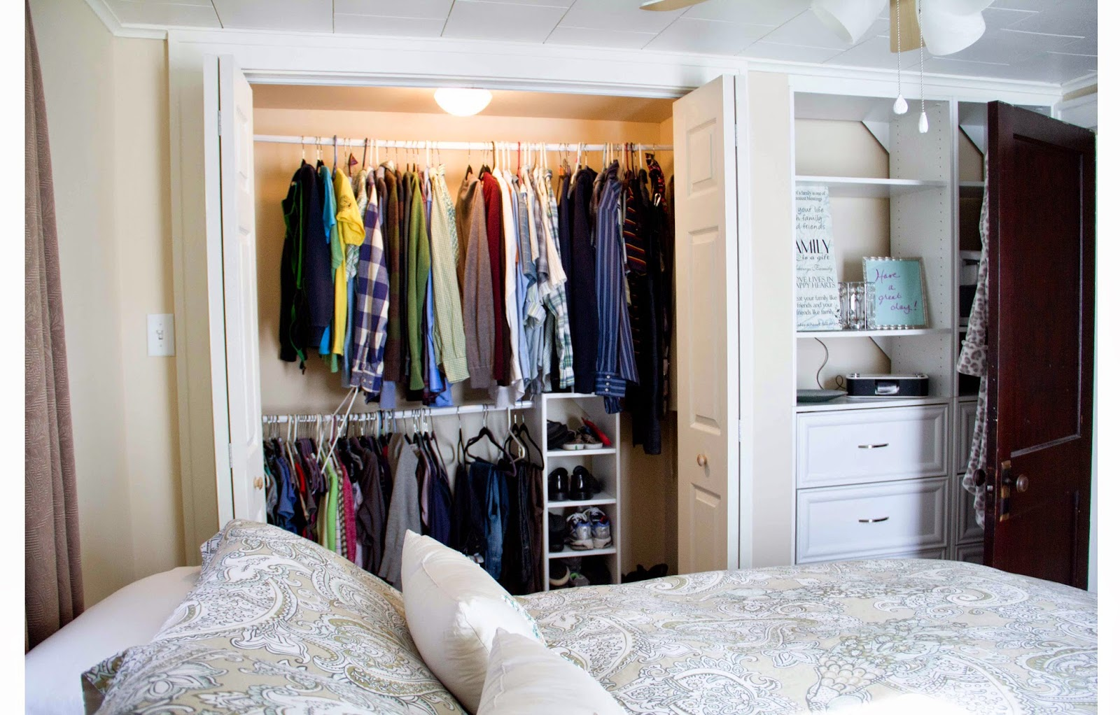 no closet in bedroom pleasing organize room without closet roselawnlutheran 16538