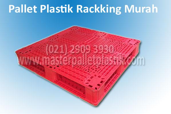 Promo Pallet Plastik Bekas Racking HDPE Harga Super Murah