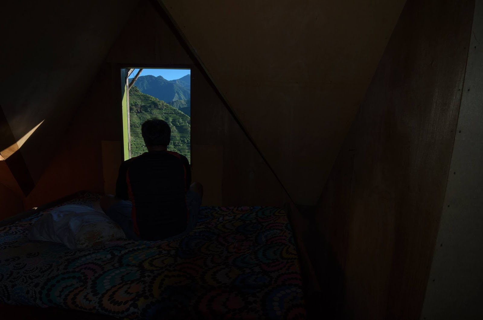 8th Wonder of the World Batad Rice Terraces Ifugao Cordillera Administrative Region Philippines Man In The Attic Window