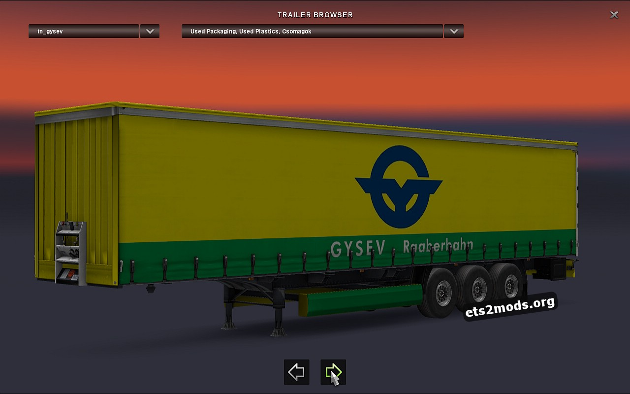 Standalone Gysev Trailer