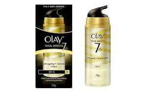 Olay Total Effect Krim Anti Aging dan Fairness cream