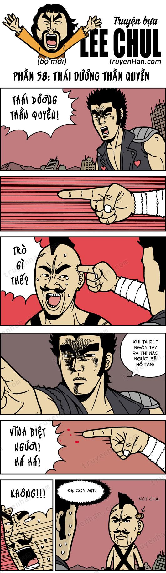 TRUYỆN BỰA LEE CHUL phần 58: Thái Dương Thần Quyền