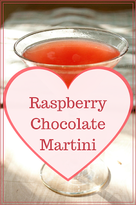 This Raspberry Chocolate Martnini is the perfect blend of vodka, chocolate liqueur and raspberry puree.