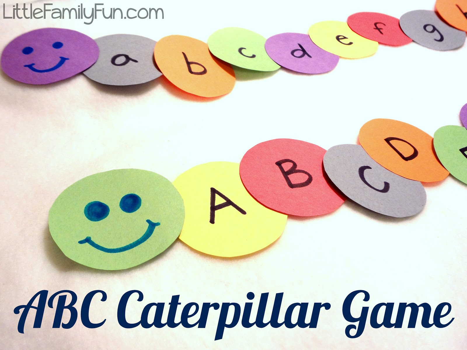 Little Family Fun Abc Caterpillar Game