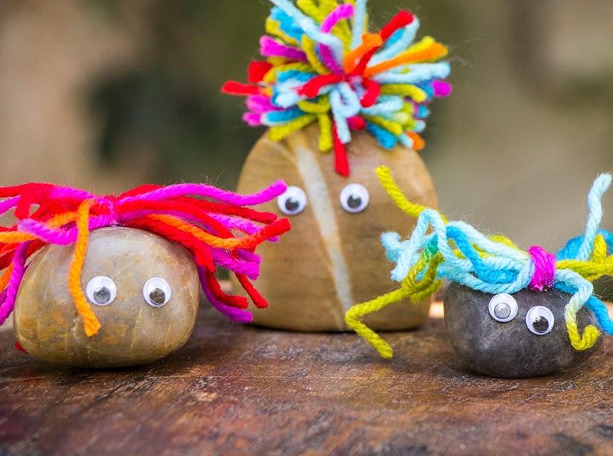 Cara Membuat Kerajinan Tangan Dari Barang Bekas Boneka Batu