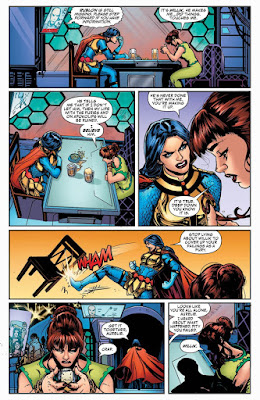 "Comic: Preview de ""Female Furies"" núm 2 de Cecil Castellucci - DC Comics"