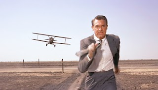 Cary Grant Chased by Plane in North by Northwest