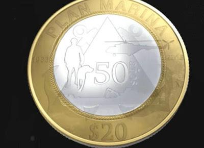 La nueva moneda conmemorativa de $20