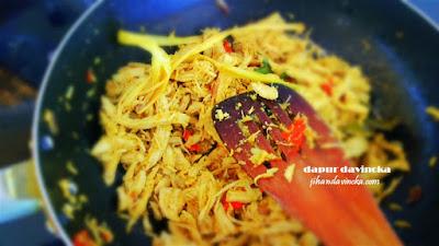 Resep Ayam Suwir Bumbu Bali