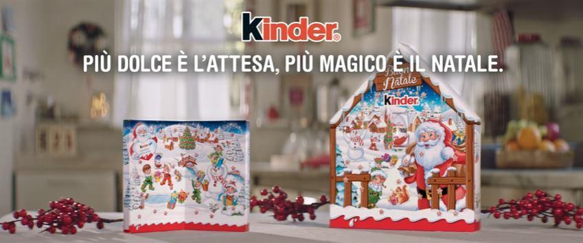 Canzone Kinder pubblicità Più dolce è l'attesa, più magico è il Natale: Calendario - Musica spot Novembre 2016