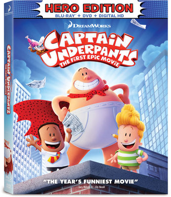 Free Kittens Movie Guide Blu Ray Review Captain Underpants The First Epic Movie
