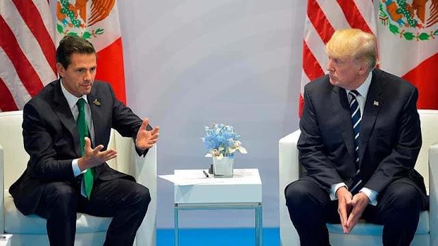 """Peña Nieto responde a Trump en inglés cuándo México pagará por el muro: """"Ni ahora ni nunca"""""""