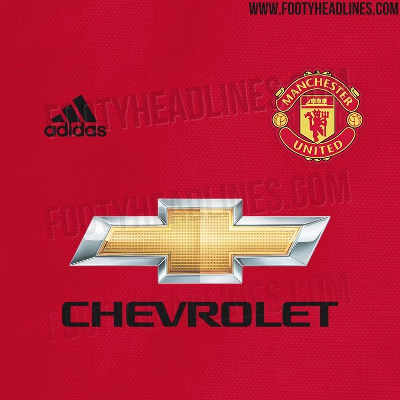 64c4fbd17 Manchester United 18-19 Home Kit Design Leaked